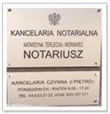 Notariusz Bełchatów Katarzyna Terlecka-Morawiec notariuszka z Bełchatowa.